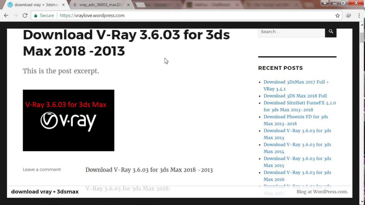 vray 3.6 for 3ds max 2013 free download